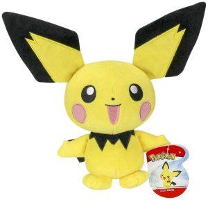Peluche de Pichu de 20 cm 2 - Los mejores peluches de Pikachu de Pokemon - Peluches de Pokemon