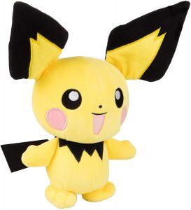 Peluche de Pichu de 20 cm - Los mejores peluches de Pikachu de Pokemon - Peluches de Pokemon