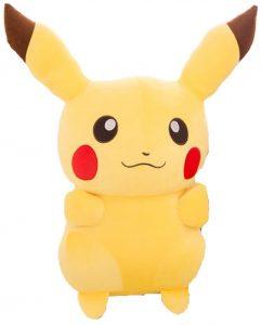 Peluche de Pikachu de 140 cm de Ash - Los mejores peluches de Pikachu de Pokemon - Peluches de Pokemon