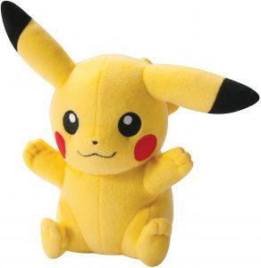 Peluche de Pikachu de 18 cm - Los mejores peluches de Pikachu de Pokemon - Peluches de Pokemon