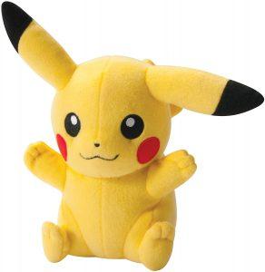 Peluche de Pikachu de 20 cm 2 - Los mejores peluches de Pikachu de Pokemon - Peluches de Pokemon