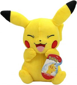 Peluche de Pikachu de 20 cm risa - Los mejores peluches de Pikachu de Pokemon - Peluches de Pokemon