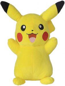 Peluche de Pikachu de 30 cm de Bandai - Los mejores peluches de Pikachu de Pokemon - Peluches de Pokemon