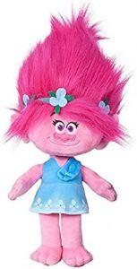 Peluche de Princesa Poppy de 15 cm - Los mejores peluches de Trolls - Peluches de dibujos animados