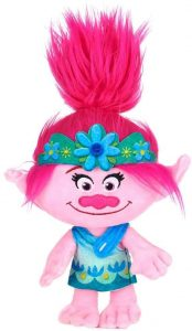 Peluche de Princesa Poppy de 25 cm - Los mejores peluches de Trolls - Peluches de dibujos animados