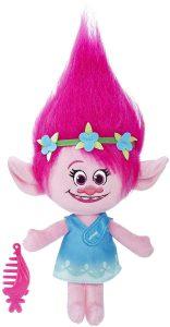 Peluche de Princesa Poppy de 35 cm de Hasbro - Los mejores peluches de Trolls - Peluches de dibujos animados