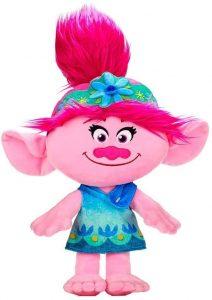 Peluche de Princesa Poppy de 46 cm - Los mejores peluches de Trolls - Peluches de dibujos animados