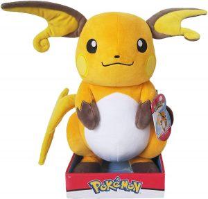Peluche de Raichu de 30 cm 2 - Los mejores peluches de Pikachu de Pokemon - Peluches de Pokemon