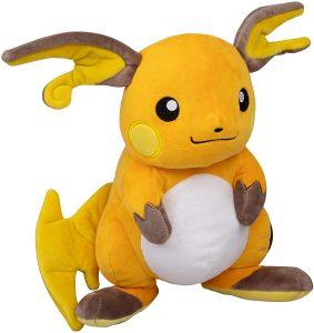 Peluche de Raichu de 30 cm - Los mejores peluches de Pikachu de Pokemon - Peluches de Pokemon