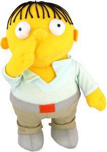 Peluche de Ralph Wiggum de 31 cm - Los mejores peluches de los Simpsons - Peluches de series de dibujos animados