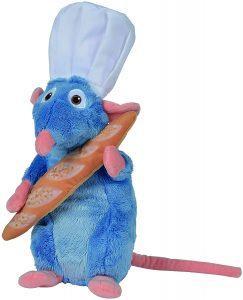 Peluche de Remy de Ratatouille con barra de pan de Disney de 25 cm - Los mejores peluches de Ratatouille - Peluches de Disney