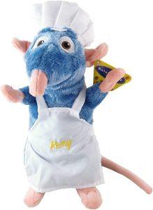 Peluche de Remy de Ratatouille con delantal de Disney de 33 cm - Los mejores peluches de Ratatouille - Peluches de Disney