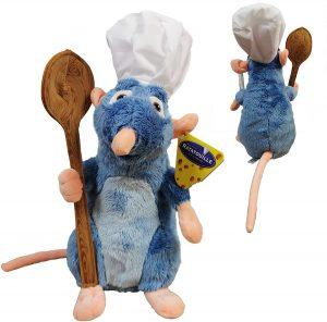 Peluche de Remy de Ratatouille de Disney de 33 cm - Los mejores peluches de Ratatouille - Peluches de Disney