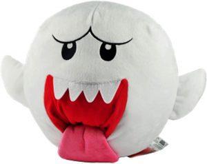 Peluche de Rey Boo de 12 cm de Nintendo - Los mejores peluches de Boo de Super Mario - Peluches de personaje de Mario