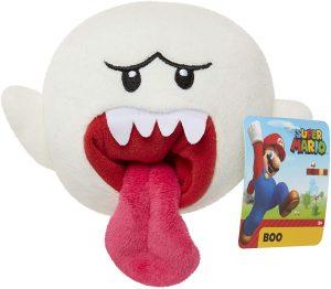 Peluche de Rey Boo de 15 cm de Nintendo - Los mejores peluches de Boo de Super Mario - Peluches de personaje de Mario