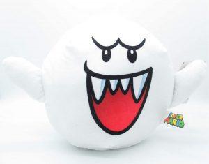 Peluche de Rey Boo de 24 cm de Nintendo - Los mejores peluches de Boo de Super Mario - Peluches de personaje de Mario