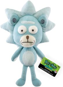 Peluche de Rick oso de Rick y Morty de 25 cm - Los mejores peluches de Rick y Morty - Peluches de series animadas