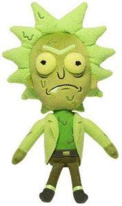 Peluche de Rick tóxico de Rick y Morty de 20 cm - Los mejores peluches de Rick y Morty - Peluches de series animadas