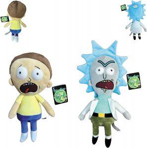 Peluche de Rick y Morty de 34 cm - Los mejores peluches de Rick y Morty - Peluches de series animadas