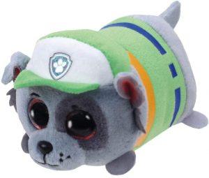 Peluche de Rocky de la Patrulla Canina de 10 cm de Ty - Los mejores peluches de la Patrulla Canina - Peluches de la Patrulla Canina
