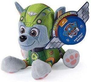 Peluche de Rocky de la Patrulla Canina de 15 cm de Spin Master - Los mejores peluches de la Patrulla Canina - Peluches de la Patrulla Canina