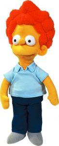 Peluche de Rod Flanders de 30 cm - Los mejores peluches de los Simpsons - Peluches de series de dibujos animados