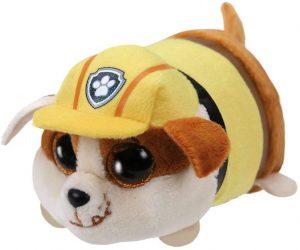 Peluche de Rubble de la Patrulla Canina de 10 cm de Ty - Los mejores peluches de la Patrulla Canina - Peluches de la Patrulla Canina