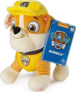 Peluche de Rubble de la Patrulla Canina de 20 cm - Los mejores peluches de la Patrulla Canina - Peluches de la Patrulla Canina