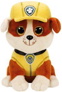 Peluche de Rubble de la Patrulla Canina de 24 cm de Ty - Los mejores peluches de la Patrulla Canina - Peluches de la Patrulla Canina