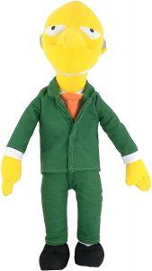 Peluche de Señor Burns de 37 cm - Los mejores peluches de los Simpsons - Peluches de series de dibujos animados
