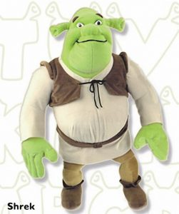 Peluche de Shrek de 23 cm - Los mejores peluches de Shrek - Peluches de películas