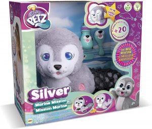 Peluche de Silver la Foca - Los mejores peluches de Club Petz - Peluches de animales de Club Petz