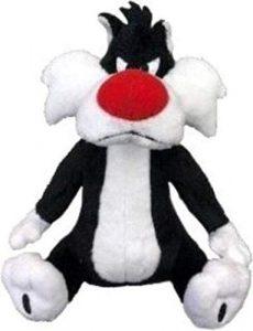 Peluche de Silvestre de 28 cm - Los mejores peluches de Silvestre de los Looney Tunes - Peluches de dibujos animados