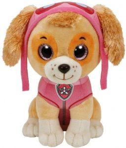 Peluche de Skye de la Patrulla Canina de 15 cm de Ty - Los mejores peluches de la Patrulla Canina - Peluches de la Patrulla Canina