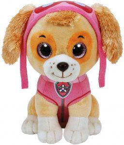 Peluche de Skye de la Patrulla Canina de 24 cm de Ty - Los mejores peluches de la Patrulla Canina - Peluches de la Patrulla Canina
