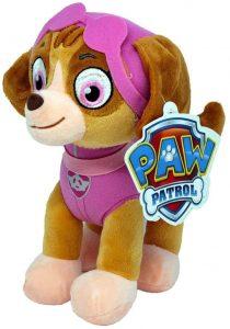 Peluche de Skye de la Patrulla Canina de 26 cm - Los mejores peluches de la Patrulla Canina - Peluches de la Patrulla Canina