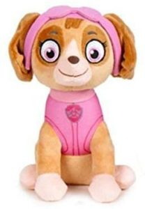 Peluche de Skye de la Patrulla Canina de 32 cm - Los mejores peluches de la Patrulla Canina - Peluches de la Patrulla Canina