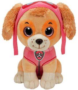 Peluche de Skye de la Patrulla Canina de 42 cm de Ty - Los mejores peluches de la Patrulla Canina - Peluches de la Patrulla Canina