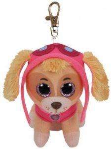 Peluche de Skye de la Patrulla Canina de 9 cm de Ty - Los mejores peluches de la Patrulla Canina - Peluches de la Patrulla Canina