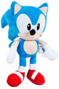 Peluche de Sonic de 30 cm de SEGA 2 - Los mejores peluches de Sonic - Peluches de personajes del erizo Sonic