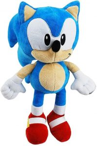 Peluche de Sonic de 30 cm de SEGA - Los mejores peluches de Sonic - Peluches de personajes del erizo Sonic