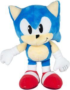 Peluche de Sonic de 32 cm de SEGA - Los mejores peluches de Sonic - Peluches de personajes del erizo Sonic