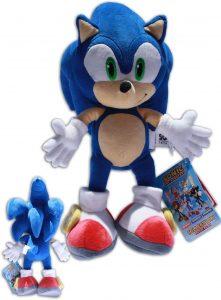 Peluche de Sonic de 34 cm de SEGA - Los mejores peluches de Sonic - Peluches de personajes del erizo Sonic
