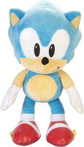 Peluche de Sonic de 48 cm de SEGA - Los mejores peluches de Sonic - Peluches de personajes del erizo Sonic