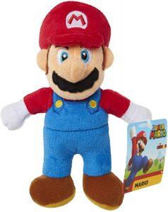 Peluche de Super Mario Bros de 15 cm de Nintendo - Los mejores peluches de Super Mario Bros - Peluches de personaje de Mario