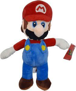 Peluche de Super Mario Bros de 35 cm de Nintendo - Los mejores peluches de Super Mario Bros - Peluches de personaje de Mario