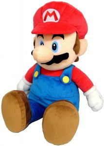 Peluche de Super Mario Bros de 70 cm de Nintendo - Los mejores peluches de Super Mario Bros - Peluches de personaje de Mario