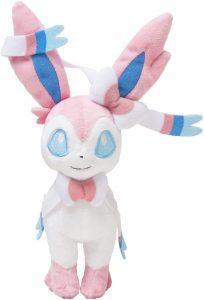 Peluche de Sylveon de Eevee de 25 cm - Los mejores peluches de Vaporeon - Peluches de Pokemon