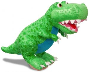 Peluche de T-Rex de Aurora de 26 cm - Los mejores peluches de Tiranosaurio Rex - Peluches de dinosaurios
