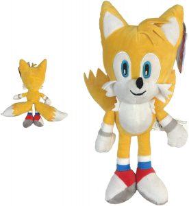 Peluche de Tails de 33 cm de SEGA - Los mejores peluches de Sonic - Peluches de personajes del erizo Sonic